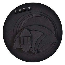 Drum Mutes, 10pcs Mute Silencer Drumming Practice Pad Bass Drums Quiet Sound off Black