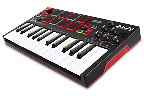 Akai Professional MPK Mini Play | Standalone Mini Keyboard & USB Controller With Built-In Sp ...