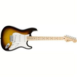 Fender Standard Stratocaster Electric Guitar – Maple Fingerboard, Brown Sunburst