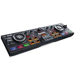 Numark DJ2GO2 | Pocket DJ Controller with Audio Interface and Serato DJ Lite Software Download