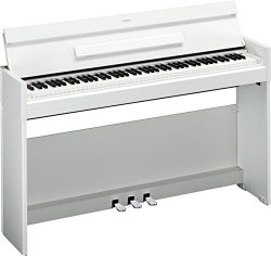 Yamaha Arius YDPS52 Traditional Console Style Digital Piano, White