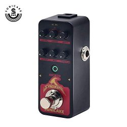 SONICAKE SANDMAN Digital Preamp Distortion Guitar Effects Pedal w/h 5 Modern-Style Hi-Gain Guita ...