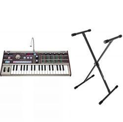 Korg MicroKorg 37-Mini Key Synthesizer & Vocoder w/FREE Keyboard Stand
