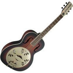 Gretsch Guitars G9241 Alligator Biscuit Round Neck Acoustic-Electric Resonator Guitar 2-Color Su ...
