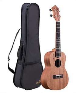 Professional 23 Inch Concert Ukulele for Child Mahogany Rosewood Small Child Guitar for Kids Uku ...