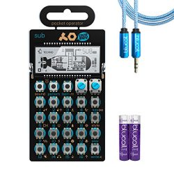 Teenage Engineering PO-14 Sub Bass Synthesizer and Sequencer – INCLUDES – Two Blucoi ...