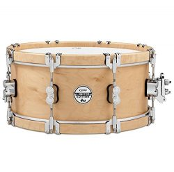 Pacific Drums & Percussion PDSX0614CLWH LIMITED Classic Wood Hoop 6″x14″ Snare D ...