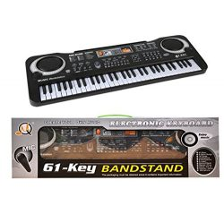 61 Key Portable Electronic Organ Music Keyboards Piano Educational Toy For Kids Boy Girls Beginn ...