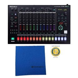 Roland TR-8S Rhythm Performer Drum Machine/Step Sequencer with Sample import, Microfiber and Fre ...