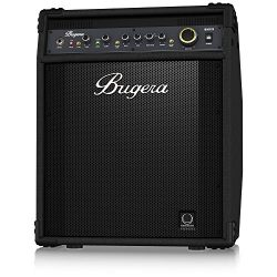 BUGERA BXD15 1000-Watt 2-Channel Bass Amplifier with 15″ Turbosound Speaker FBQ Spectrum A ...