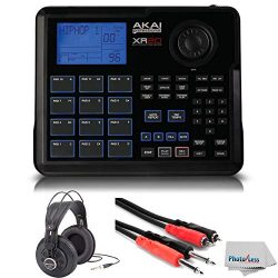 Akai Professional XR20 | Beat Production Station Drum Machine + Studio Headphones + Stereo Inter ...