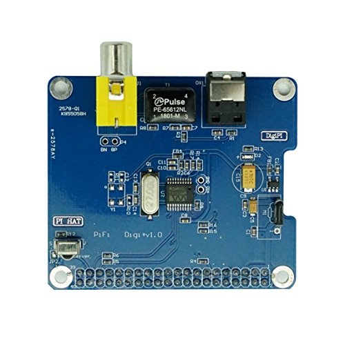 Geekteches HiFi DiGi+ Digital Sound Card Module I2S SPDIF Interface, Optical Fiber for Raspberry ...
