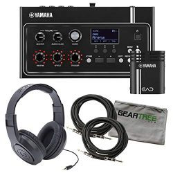 Yamaha EAD10 Electronic Acoustic Drum Module (Included Mic with Trigger Pickup & Power Suppl ...