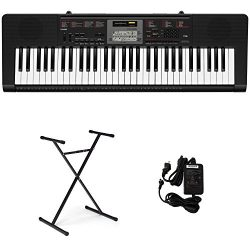 Casio CTK-2090V Portable Keyboard with Power Supply and Stand