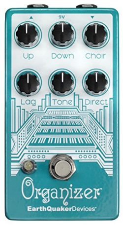 Earthquaker Devices V2 Polyphonic Organ Emulator, Version 2 (ORGANIZERV2)