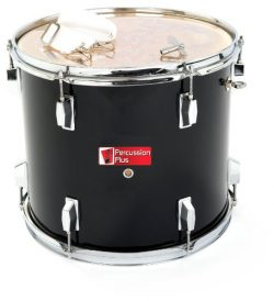 Percussion Plus PP787-BK Junior Tenor Marching Drum 14″