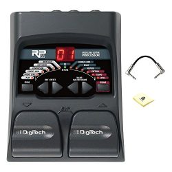 Digitech RP55 Multi effects Guitar Pedal with Two Footswitches, Built-in Drum Machine and Tuner  ...