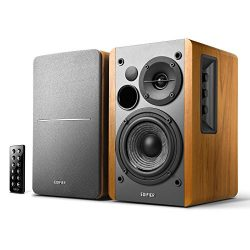 Edifier R1280DB Powered Bluetooth Bookshelf Speakers – Optical Input – Wireless Stud ...