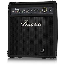 BUGERA BXD12 1000-Watt 2-Channel Bass Amplifier with 12″ Turbosound Speaker FBQ Spectrum A ...