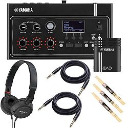 Yamaha EAD10 Electronic Acoustic Drum Module Bundled with 1 x Samson Open Ear Stereo Headphones, ...