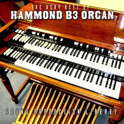 Hammond B3 Organ – Large Original Samples Studio Library on DVD or download