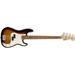 Fender 4 String Standard Precision Electric Bass Guitar-PAU Ferro Fingerboard, Brown Sunburst, ( ...
