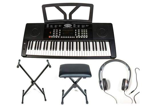 benjamin adams dk7000 portable keyboard package musicalbin musicalbin. Black Bedroom Furniture Sets. Home Design Ideas