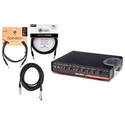 Hartke TX600 600 watt Class D Bass Amplifier Tube Preamp w/ Instrument, XLR, and Speaker Cables