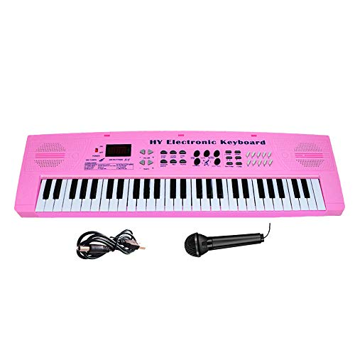 Keyboard Piano for Kids Fresh Household Kids Piano 54 Keys Electronic Musical Instrument with Mi ...
