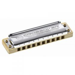 Marine Band Crossover Harmonica in Chrome – Key of Bb
