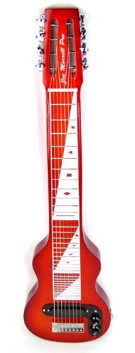 Joe Morrell Pro Series Maple Body 8-String Lap Steel Guitar – Cherry Sunburst Finish USA