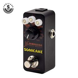 SONICAKE 5th Dimension Digital Modulation Effects Pedal w/h 11 Effects of Phaser, Flanger, Choru ...