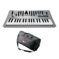 Korg Minilogue 4 Voice Polyphonic Analog Synthesizer with 200 Presets – Bundle With Gator  ...