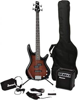 Ibanez IJXB150B Jumpstart Bass Pack – Walnut Sunburst