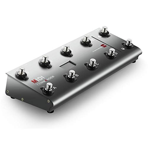 MIDI Foot Controller,MeloAudio Guitar Floor Multi-Effects Portable USB MIDI Foot Controller wit ...