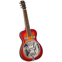 Regal RD-40CHS Studio Series Squareneck Resophonic Guitar – Cherry Sunburst