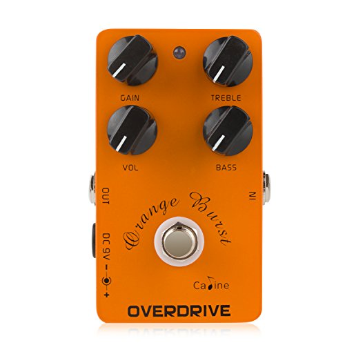 caline usa digital overdrive guitar effect pedal with 4 control knobs cp 18 musicalbin. Black Bedroom Furniture Sets. Home Design Ideas