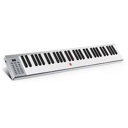 Vangoa VGK8600 61-Key Portable MIDI Keyboard with Touch-response Full Size Keys, Built-in Speaker