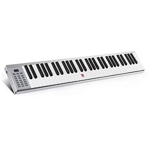 Vangoa VGK8600 61-Key Portable MIDI Keyboard with Touch-response Full Size Keys, Built-in Speaker