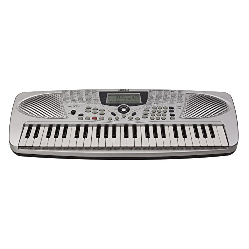 Medeli MC37A 49-Key Portable Keyboard with 132 Voices & USB I/O