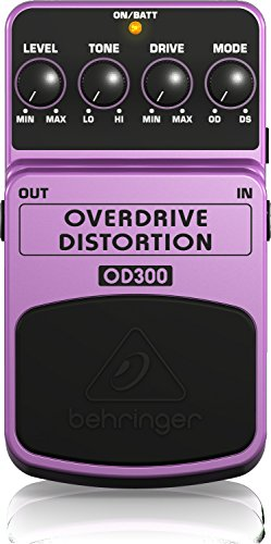 Behringer OD300 2-Mode Overdrive/Distortion Instrument Effects Pedal