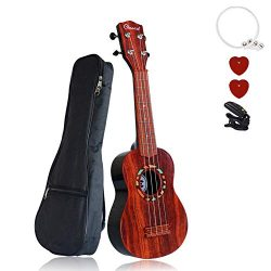 Beginner Ukulele Toys for Kids – Vindany 21″ Ukulele Starter Kit with Ukulele Case,  ...
