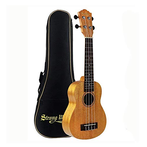 Soprano Beginner Ukulele Bundle 21 Inch Mahogany Professional Uke Starter Kit for Beginner Kid S ...