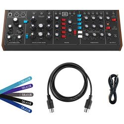 Behringer MODEL D Monophonic Synthesizer BUNDLED WITH Hosa 3-Ft CMM-103 TRS to TRS Stereo Interc ...