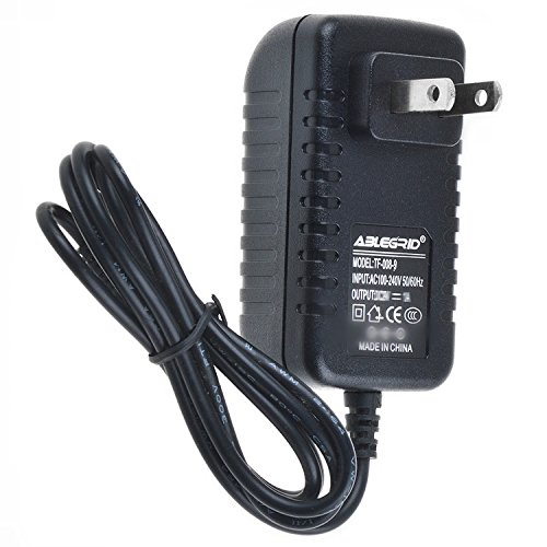 ABLEGRID AC Adapter for Casio WK-110 WK-200 WK-210 Workstation Keyboard Power Supply Cord Charger