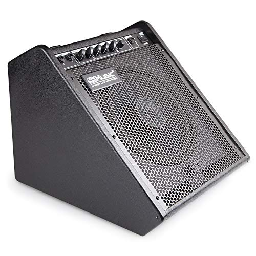 Coolmusic DM-50 40W Bluetooth Personal Monitor Electronic Drum Amplifier Dual Channel Speaker wi ...
