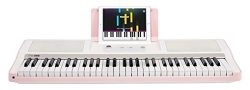 The ONE Smart Piano Keyboard with Lighted Keys, Electric Piano 61 keys, Home Digital Music Keybo ...