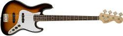 Squier by Fender Affinity Series Jazz Bass – Laurel Fingerboard – Brown Sunburst