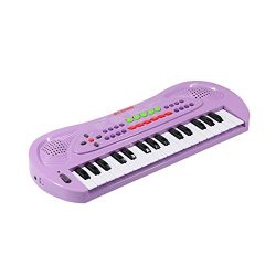aPerfectLife Kids Piano, 32 Keys Multifunction Electronic Kids Keyboard Piano Music Instrument f ...