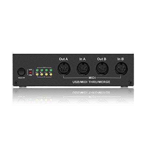 DigitalLife MIDI Box 4 x 4 USB MIDI Interface - USB MIDI